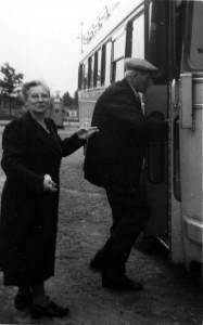 Juffrouw ter Horst en Jitze Sikkema