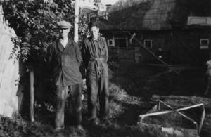 Elias en Machiel 1955